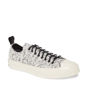 Converse Chuck Taylor Flocked Wool Low Top Sneaker